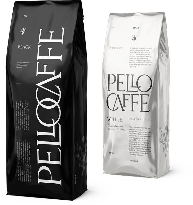 Pello Caffe Black and White
